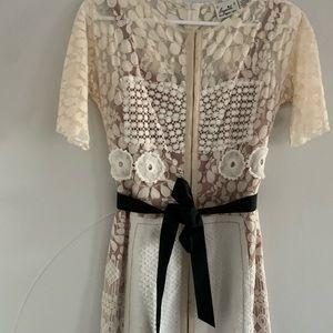 Anthropologie Dresses - beguile byron lars anthropologie ivory dress